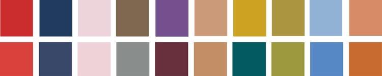 kleuren-najaarswinterseizoen